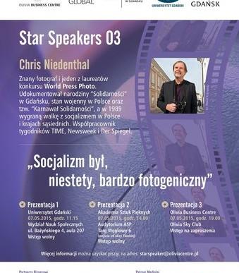 Chris Niedenthal w Polsce