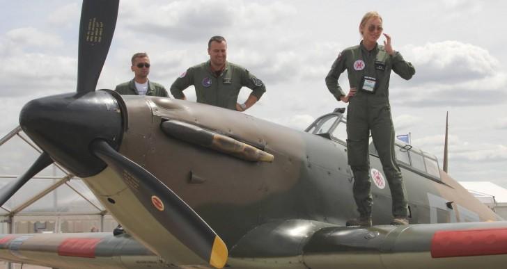 Polskie Siły Powietrzne w pokazach lotniczych The Royal International Air Tattoo