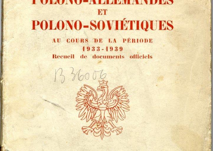 Polska dyplomacja w latach 1938 – 1939