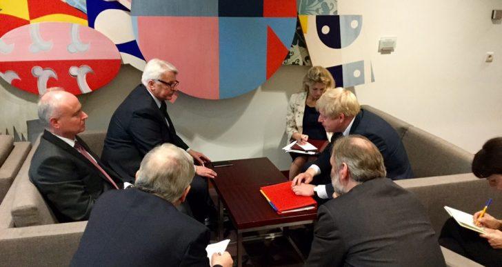 Boris Johnson chce, by Polacy zostali w Wielkiej Brytanii