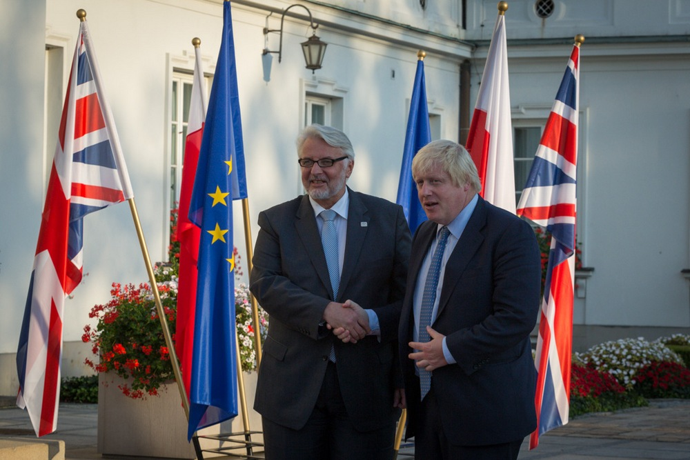 Spotkanie ministrów spraw zagranicznych Polski i Wielkiej Brytanii