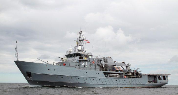 Polski statek odwiedził Portsmouth