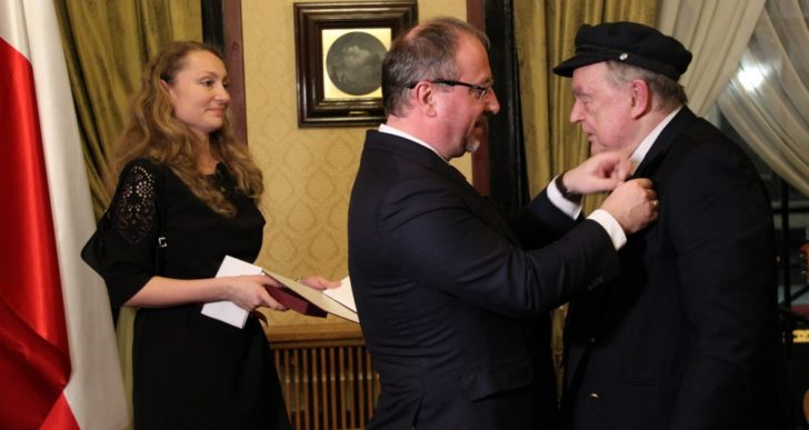 Kapitan Jerzy Knabe odznaczony